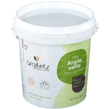 Argiletz Groene Klei Pasta Vette Huid 1 kg