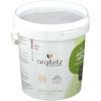 Argiletz Argile Verte Pâte Peau Grasse 1 kg