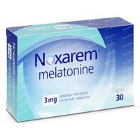 Noxarem Melatonine 3mg 30  tabletten