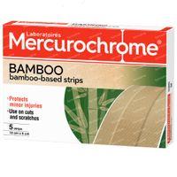 Mercurochrome Bamboo Based Strips 5 stuks
