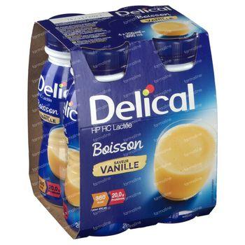 Delical Melkdrank HP-HC Vanille 360kcal 4x200 ml