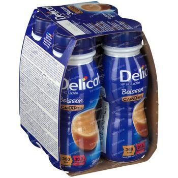 Delical Melkdrank HP-HC Karamel 360kcal 4x200 ml