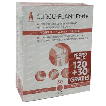 Curcu-Flam Forte + 30 Comprimés GRATUIT 120+30 capsules