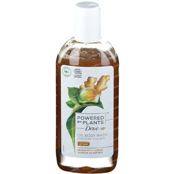 Dove Powered by Plants Oil Body Wash Ginger 250 ml