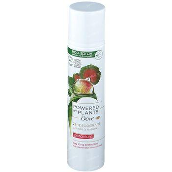 Dove Powered by Plants 24h Deodorant Geranium 75 ml