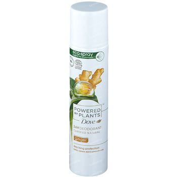 Dove Powered by Plants 24h Deodorant Ginger 75 ml