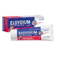 Elgydium Kids Tandpasta Gel Bevroren Aardbei 50 ml
