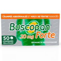 Buscopan Forte 20mg - Crampes Abdominales 50  comprimés
