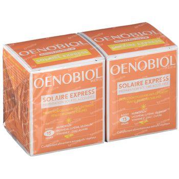 Oenobiol Solaire Express - Peau & Bronzage Sublimés DUO 2x15 comprimés
