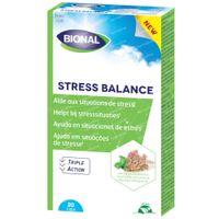 Bional Stress Balance – Helpt bij stress-situaties – Vegan voedingssupplement met Ashwaghanda – 20 capsules 20  capsules