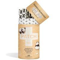 PATCH Kids Panda Pansements en Bambou Large Éraflures Huile de Coco 10 pièces