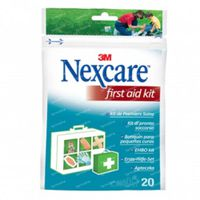 Nexcare First Aid Mix 20 stuks