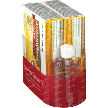 Arkoroyal Dynergie DUO + Handgel GRATIS 40x10 ml ampoules