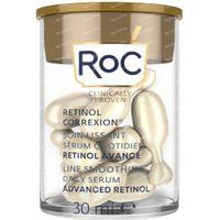RoC Retinol Correxion Soin Lissant Sérum Nuit 30  capsules