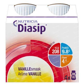 Diasip Vanille Nouveau Modèle 4x200 ml