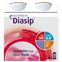Diasip Fraise Nouveau Modèle 4x200 ml