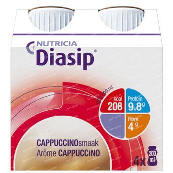 Diasip Cappuccino Nieuw Model 4x200 ml