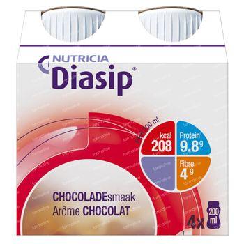 Diasip Chocolat Nouveau Modèle 4x200 ml