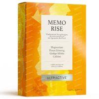 Ultractive Memo Rise - Ondersteunt het Geheugen, de Concentratie en de Algemene Alertheid 30  tabletten