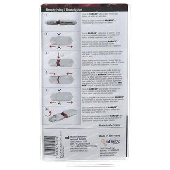 Anabox Coupe-Pilule Blanc 1 pièce
