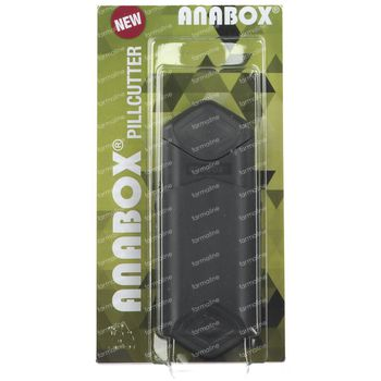 Anabox Coupe-Pilule Anthracite 1 pièce