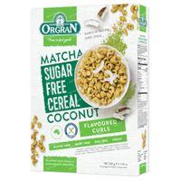 Orgran Cornflakes Matcha - Kokosnoot Suikervrij 200 g