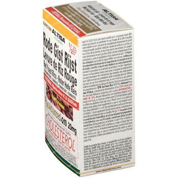 Altisa Levure de Riz Rouge - Q10 - Thé Vert 90 comprimés