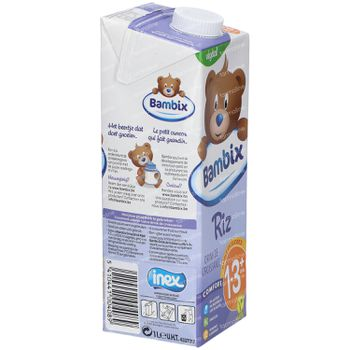 Bambix Rijst Groeidrink 1-3 Jaar+ 1 l