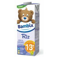 Bambix Riz Drink de Croissance 1-3 Ans+ 1 l