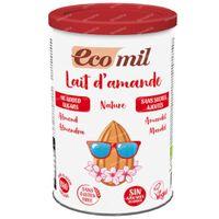 Ecomil Lait d'Amande sans Sucre 400 g