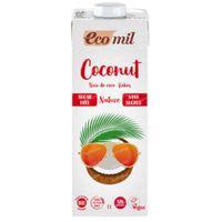 Ecomil Lait de Coco sans Sucre 1 l