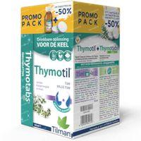 Thymotil Keelsiroop + Thymotabs Natuursmaak 1  set