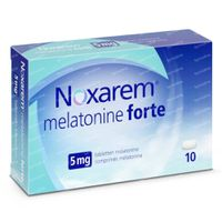 Noxarem Melatonine Forte 5mg 10  tabletten