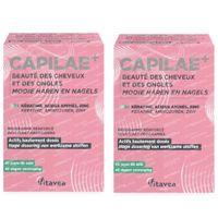 Nutrisanté Capilaé+ Beauté des Cheveux et des Ongles DUO 2x120  gélules souples