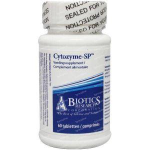 Biotics Cytozyme SP milt 60 Stuks Tabletten