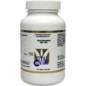 Vital Cell Life Niacinamide vitamine B3 100 vcaps