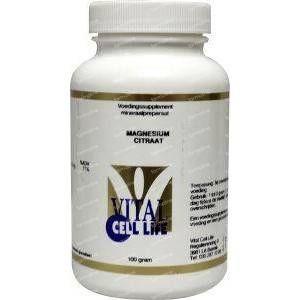 Vital Cell Life Magnesium citraat 160 mg poeder 100 g