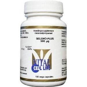 Vital Cell Life Seleno plus seleniummethionine 500 mcg 100 capsules