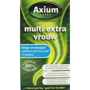Axium Multi vrouw extra 60 capsules