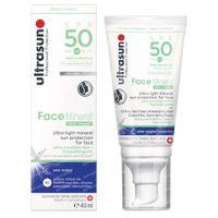 Ultrasun Face Mineral Sun Cream SPF50 40 ml