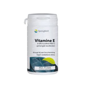 Springfield Vitamine E 400IE 90 softgels