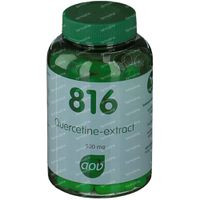 AOV 816 Quercetine extract 500 mg 60 vcaps