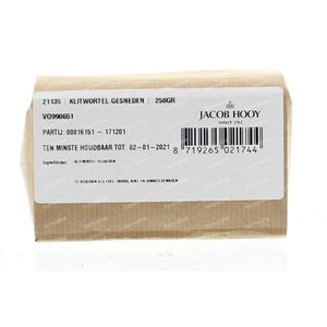 Jacob Hooy Klitwortel gesneden 250 g