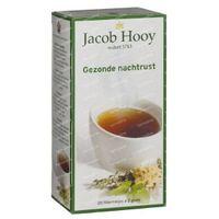Jacob Hooy Gezonde nachtrust thee 20  zakjes