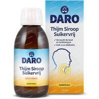 Daro Thijmsiroop suikervrij 200 ml