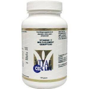 Vital Cell Life Vitamine C multi element gebufferd poeder 120 g