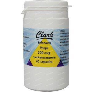 Clark Selenium 500 mcg (Natrium Seleniet) 45 vcaps