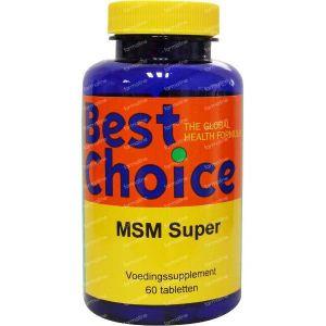 Best Choice MSM super 60 St Tabletten