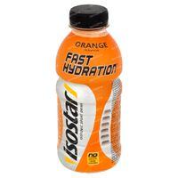 Isostar Liquid petfles orange 500 ml