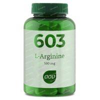 AOV 603 L-Arginine 500 mg 90  vcaps